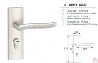Awesum High Quality Modern Small-size Lock A08411SSG