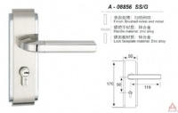 Awesum High Quality Modern Small-size Lock A08856SSG