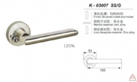 Awesum High Quality Bathroom Lock K03007SSG
